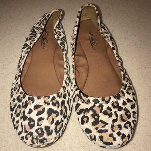 Lucky Brand Cheetah Print Emmie Flats 8